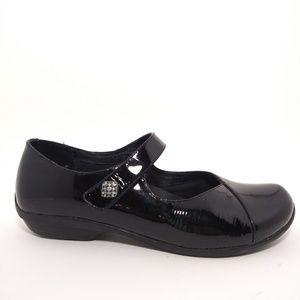 Dansko Mary Jane Black Patent Leather Loafers Sz38